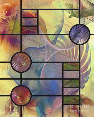 Apophysis Mixed Media - Desert Blossoms by John Robert Beck