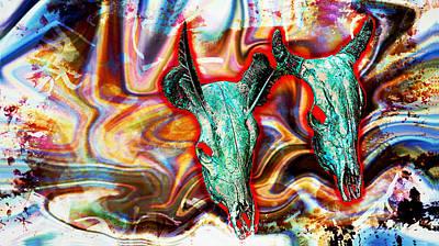 Desert Hallucination Print by Ian Gledhill