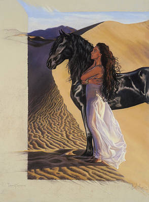 Pastel - Desert Of Inspiration by Kim McElroy