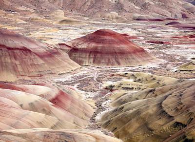 Desert Palette Print by Mike  Dawson