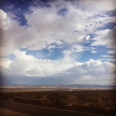Desert Photograph - Desert Sky. #mojave #sanbernardino by Alex Snay