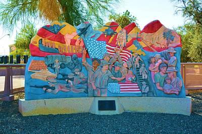 George Bush Digital Art - Desert Storm Memorial by Richard Jenkins