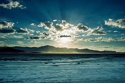 Landscape Photograph - Desert Sunset by Helix Games Photography