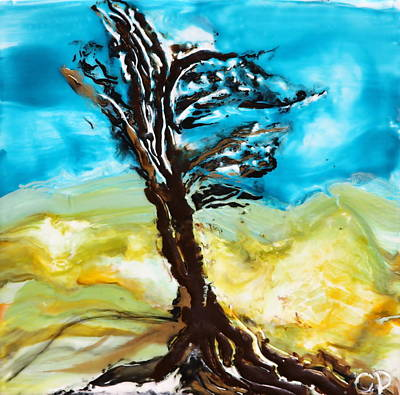 Desiccated Tree One Print by Cherie Duty
