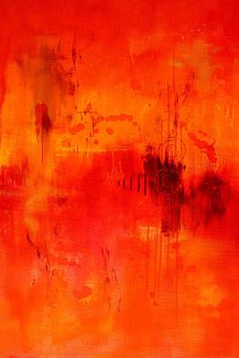 Florid Painting - Desire by Nancy Merkle