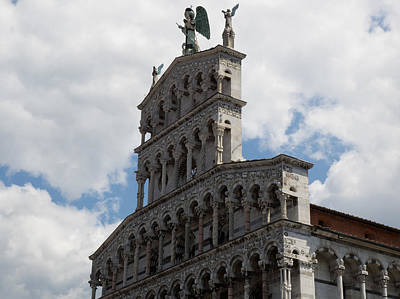 Michele Photograph - Detail View Of The Chiesa Di San by Panoramic Images