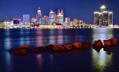 Detroit Alive And Well Print by Frozen in Time Fine Art Photography