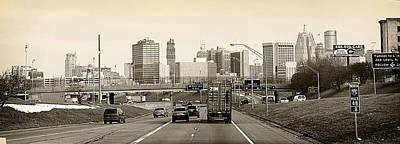 Hovind Photograph - Detroit Michigan by Scott Hovind