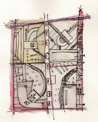 Development Las Vegas Strip 2 Print by Mark M  Mellon