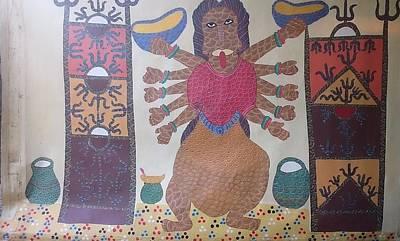 Devi 1997 Print by Jangarh Singh Shyam