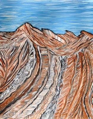 Painting - Devil Slide by Suzanne Surber