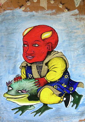 Devilboy Print by Billy Knows