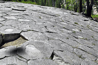 Geometric Shapes Photograph - Devils Postpile - Nature And Science by Christine Till