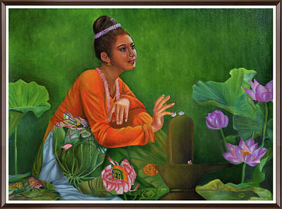 Devoutness Painting - Devotion by Deepak Deshmukh