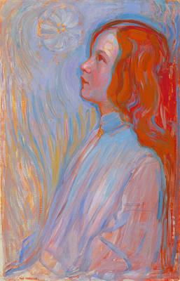De Stijl Painting - Devotion by Piet Mondrian