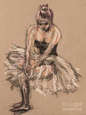 The Beautiful Dancer Study Original by Robert Yaeger