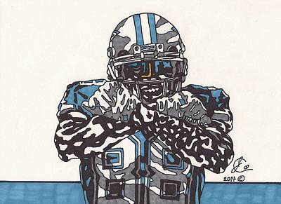 Dez Bryant 1 Original by Jeremiah Colley