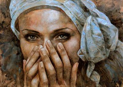 Painting -  Di by Arthur Braginsky