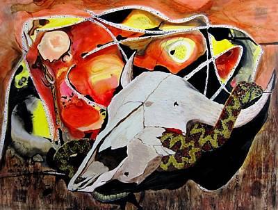Diablo Print by Liz Borkhuis