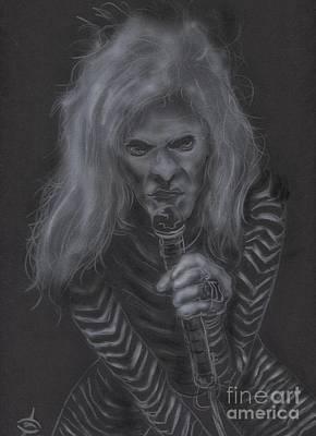 Van Halen Painting - Diamond Dave by John Sodja