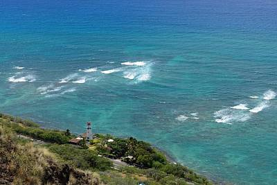Landscape Photograph - Diamond Head Light House by Michael Scott