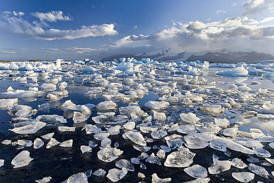 Winter Photograph - Diamonds Sea by Joan Gil Raga