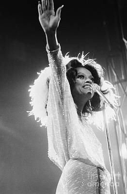 Diana Ross Print by Terry O'Neill