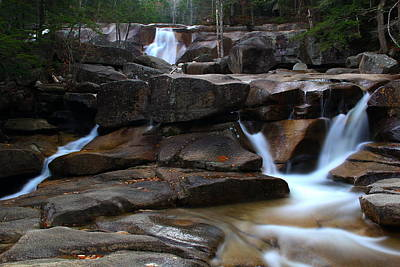 North Conway Photograph - Diana's Bath by Andrea Galiffi