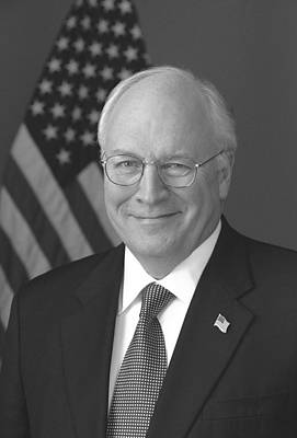 Dick Cheney Photograph - Dick Cheney by War Is Hell Store