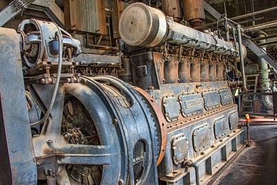 Diesel Power Print by Leland D Howard
