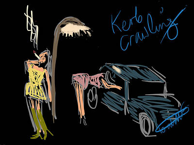 Digi Kerb Crawling Print by Isabella Abbie Shores