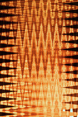 Abstract Photograph - Digital Fire by Tom Janca