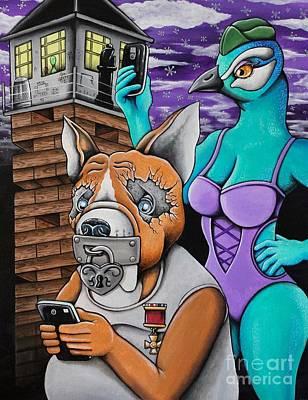 Digital Warfare Print by Dan Gee