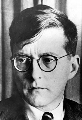 1930s Portraits Photograph - Dimitri Shostakovich,  Russian Composer by Everett