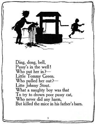 Nursery Rhyme Photograph - Ding, Dong, Bell by Granger