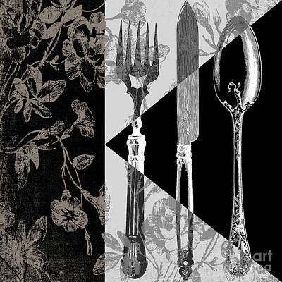 Eating Painting - Dinner Conversation by Mindy Sommers