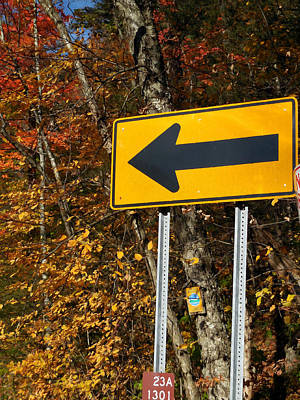 Travel Painting - Directional Arrow Road Signs 1 by Lanjee Chee