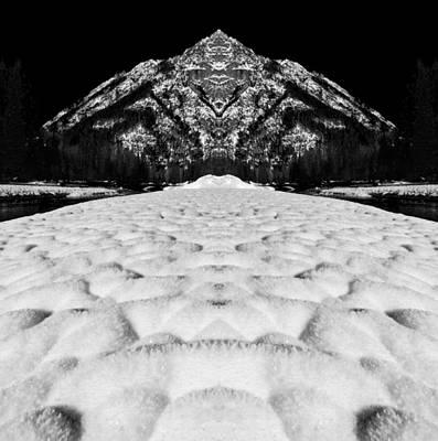 Dirtyface Peak Reflection Print by Pelo Blanco Photo
