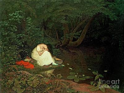 Crying Painting - Disappointed Love by Francis Danby