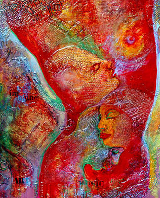 Symbolic Mixed Media - Disassembled by Claudia Fuenzalida Johns