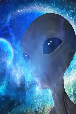 Conspiracy Digital Art - Disclosure by Mark Taylor