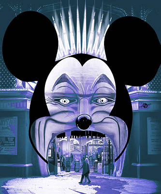Dismal World Alternate Disney Universe 4 Print by Tony Rubino