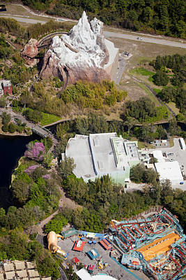 Aeriel View Photograph - Disney Animal Kingdom  by Anthony Totah