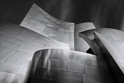Disney Photograph - Disney Music Hall by Steve Buffington