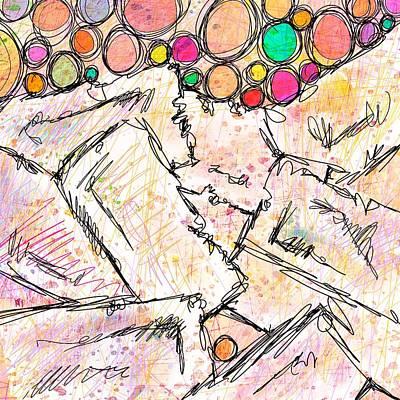 Disorder Digital Art - Dissociative by Rachel Christine Nowicki