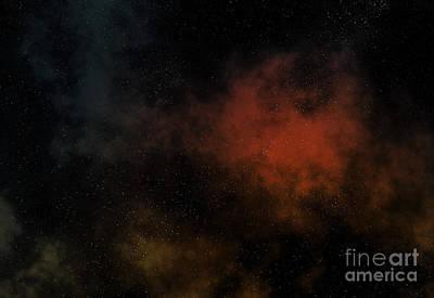 Macrocosm Digital Art - Distant Nebula by Michal Boubin