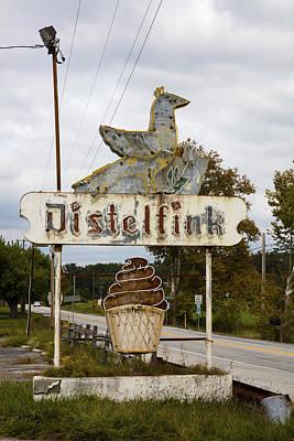 Abandoned Photograph - Distelfink by Hugh Smith