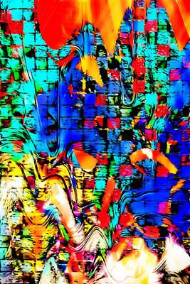 Distortion Print by Tom Gowanlock