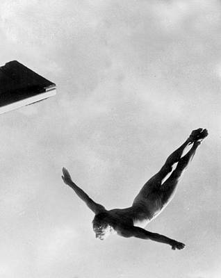 Olympian Photograph - Diver by American School
