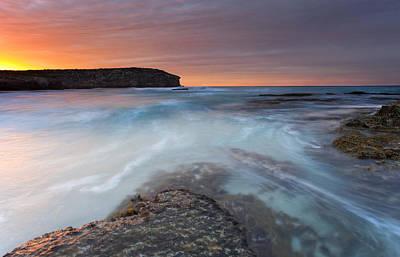 Kangaroo Photograph - Divided Tides by Mike  Dawson